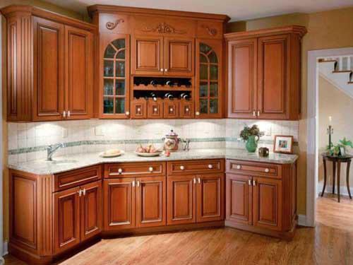 Kệ bếp gỗ tự nhiên 100