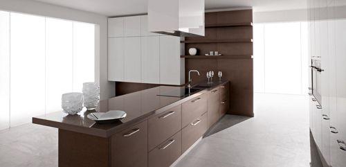 Tủ bếp gỗ công nghiệp giá rẻ 017