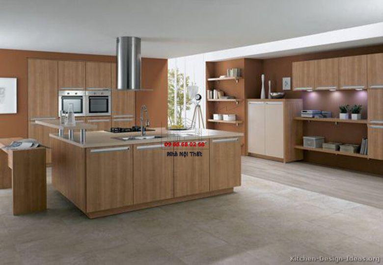 Tủ bếp gỗ công nghiệp giá rẻ 029