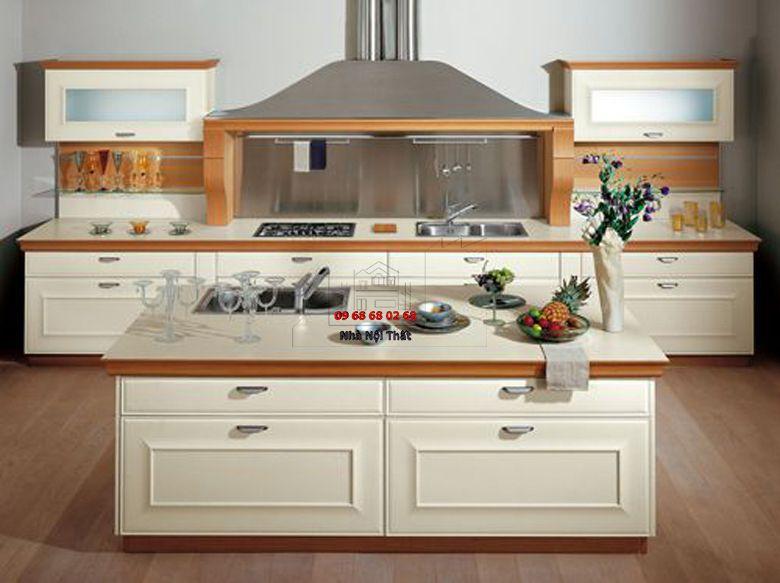 Tủ bếp gỗ công nghiệp giá rẻ 073