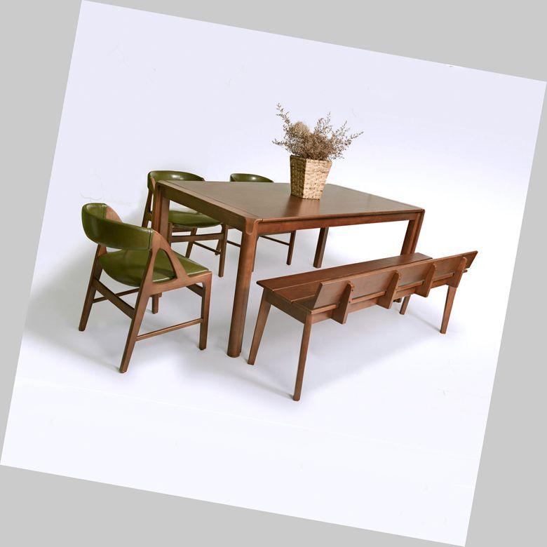 Bàn ăn gỗ công nghiệp 081