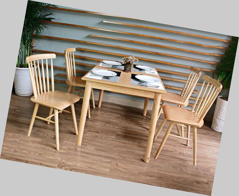 Bàn ăn gỗ công nghiệp 084