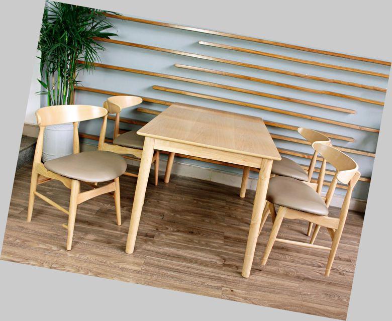 Bàn ăn gỗ công nghiệp 085