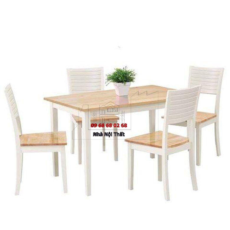 Bàn ghế ăn gỗ công nghiệp 013