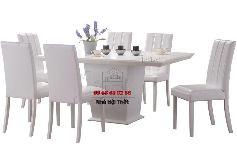Bàn ghế ăn gỗ công nghiệp 021