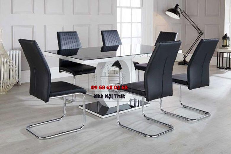 Bàn ghế ăn gỗ công nghiệp 022