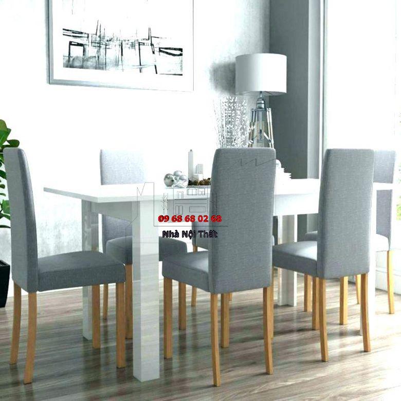 Bàn ghế ăn gỗ công nghiệp 029