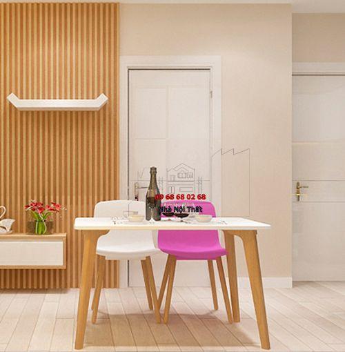 Bàn ghế ăn gỗ tự nhiên 024