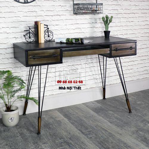 Bàn trang điểm gỗ công nghiệp 002