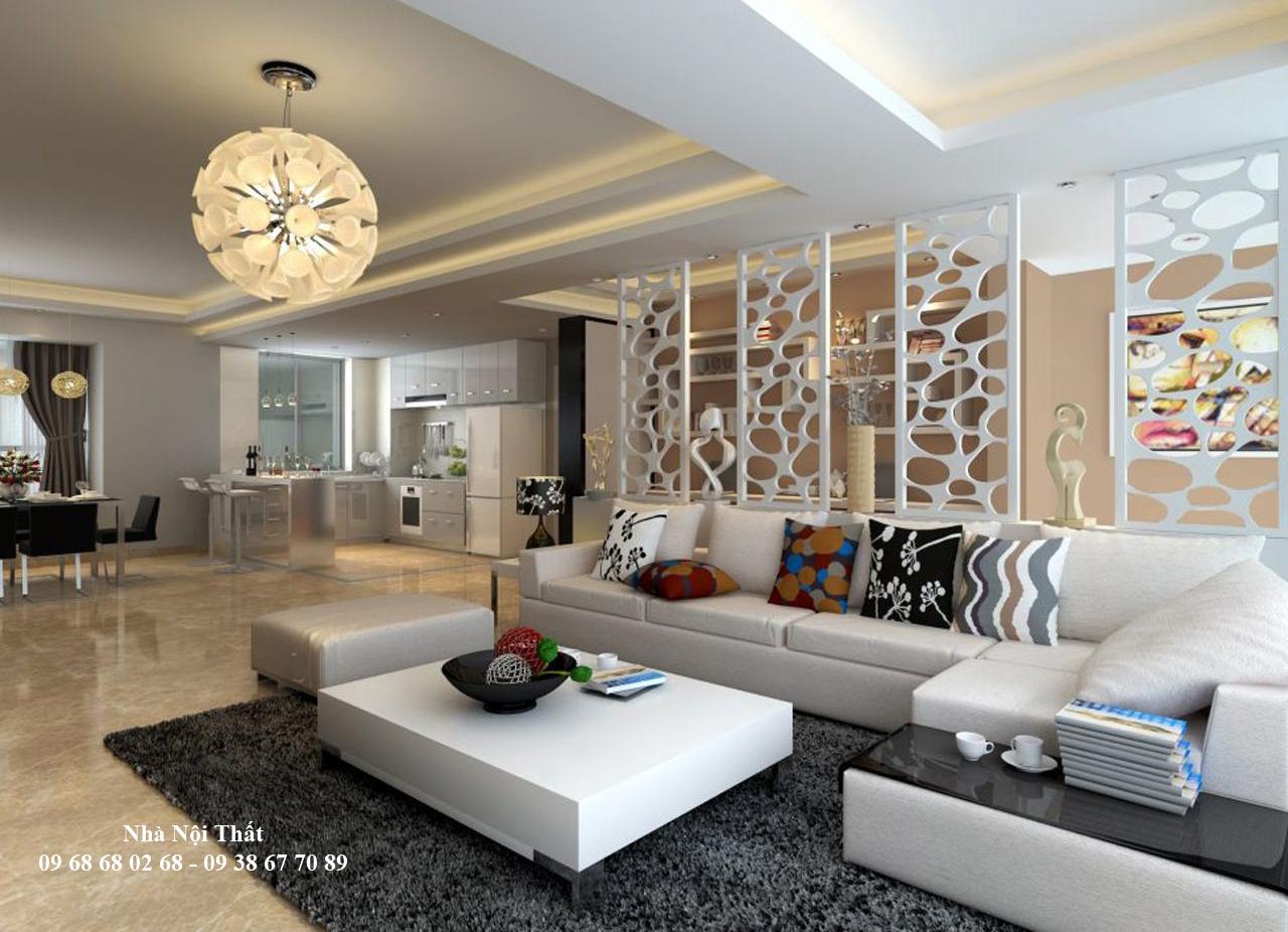 Mẫu nội thất phòng khách đẹp 001