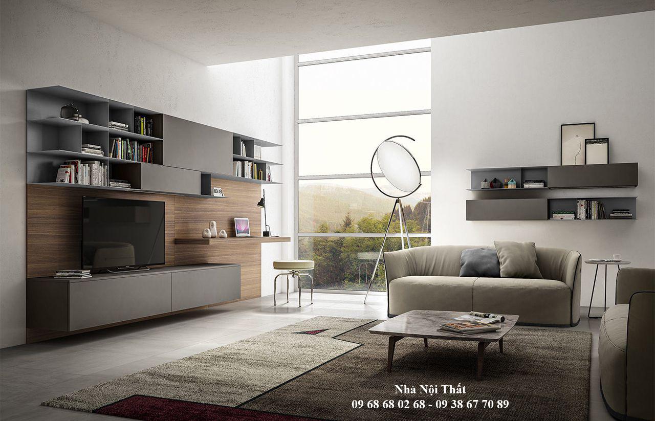 Mẫu nội thất phòng khách đẹp 003