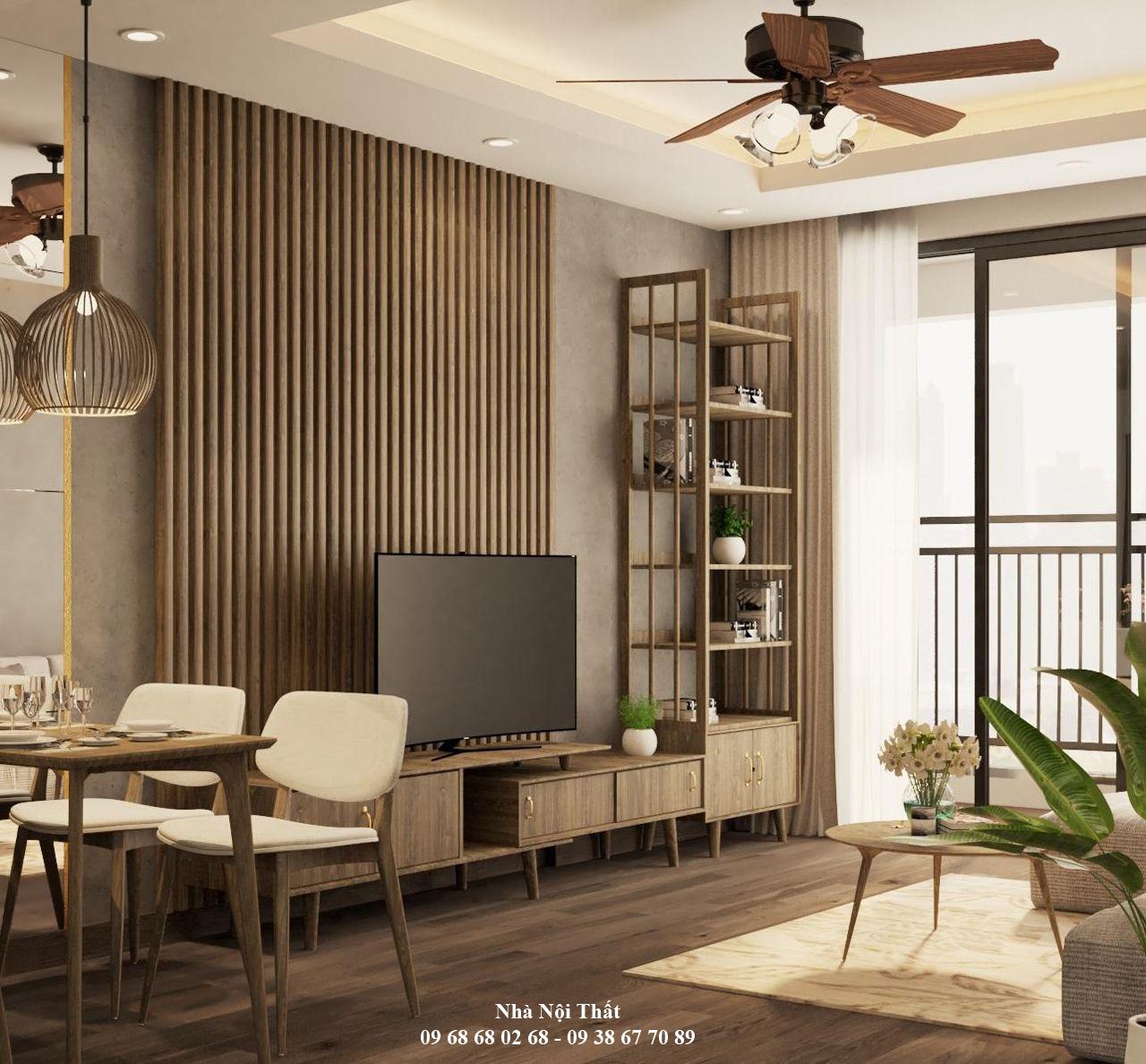 Mẫu nội thất phòng khách đẹp 004