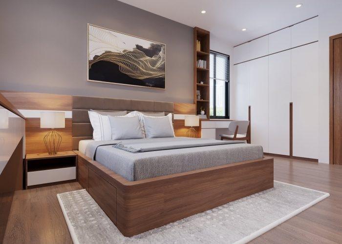 Nội thất giá rẻ, nội thất phòng ngủ bằng gỗ công nghiệp