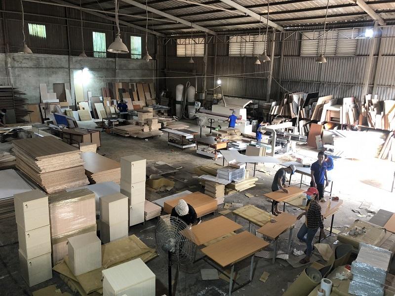 Xưởng sản xuất nội thất - xưởng mộc Thuận Thiên