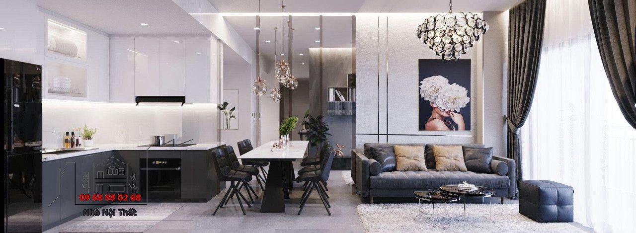 Thiết kế nội thất phòng ăn 001