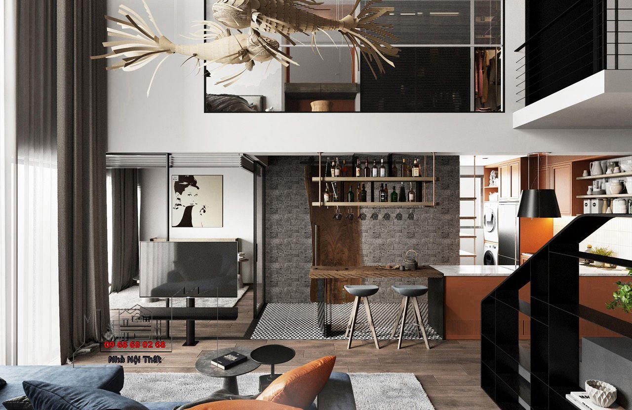 Thiết kế nội thất phòng ăn 002