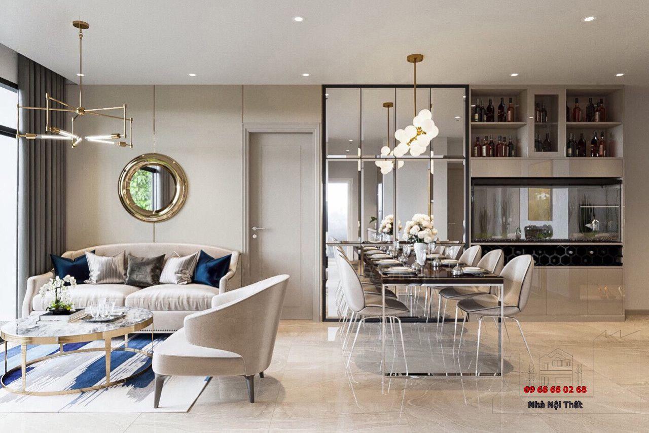Thiết kế nội thất phòng ăn 004