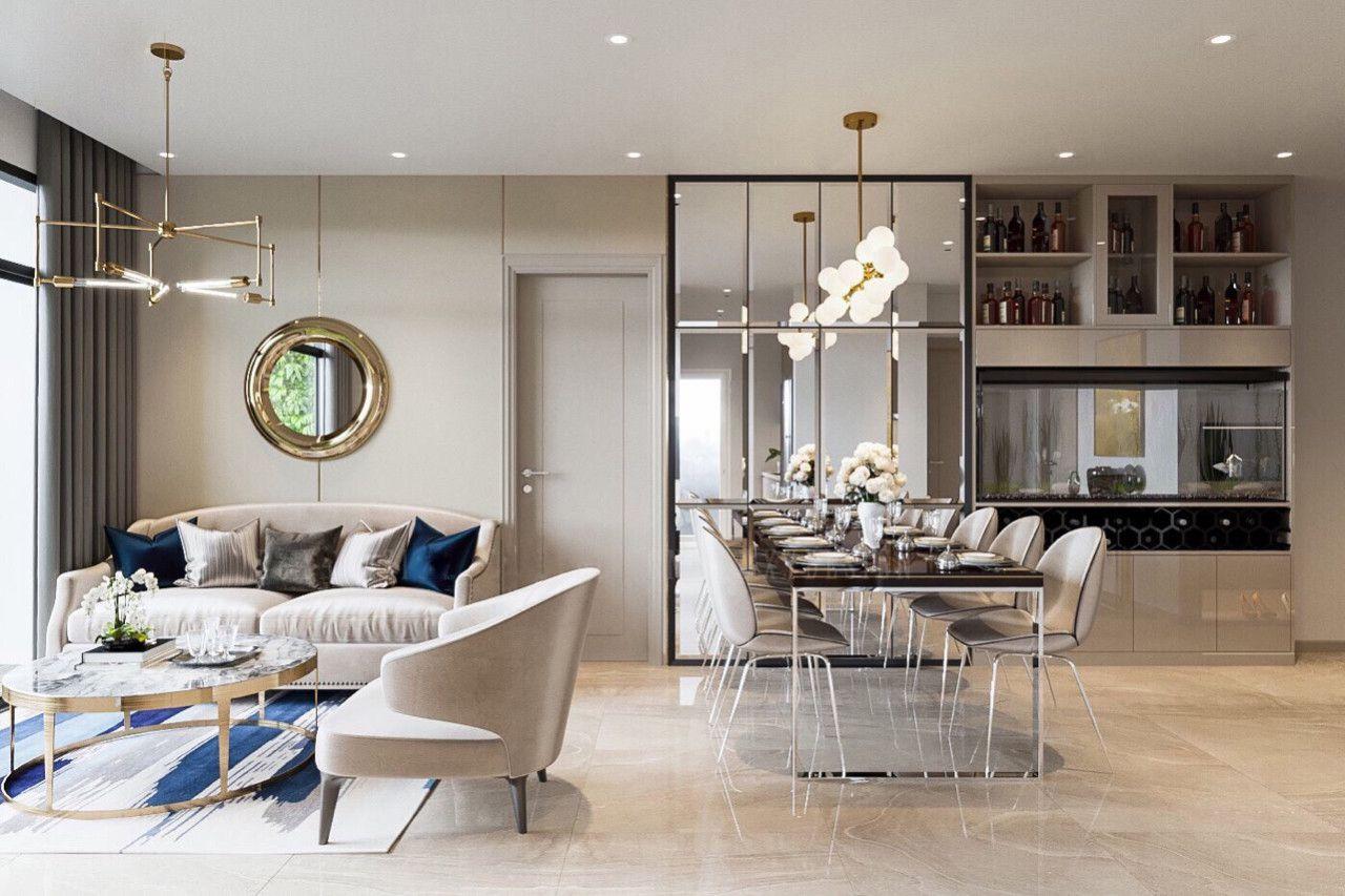 Thiết kế nội thất phong cách hiện đại - phòng bếp 002
