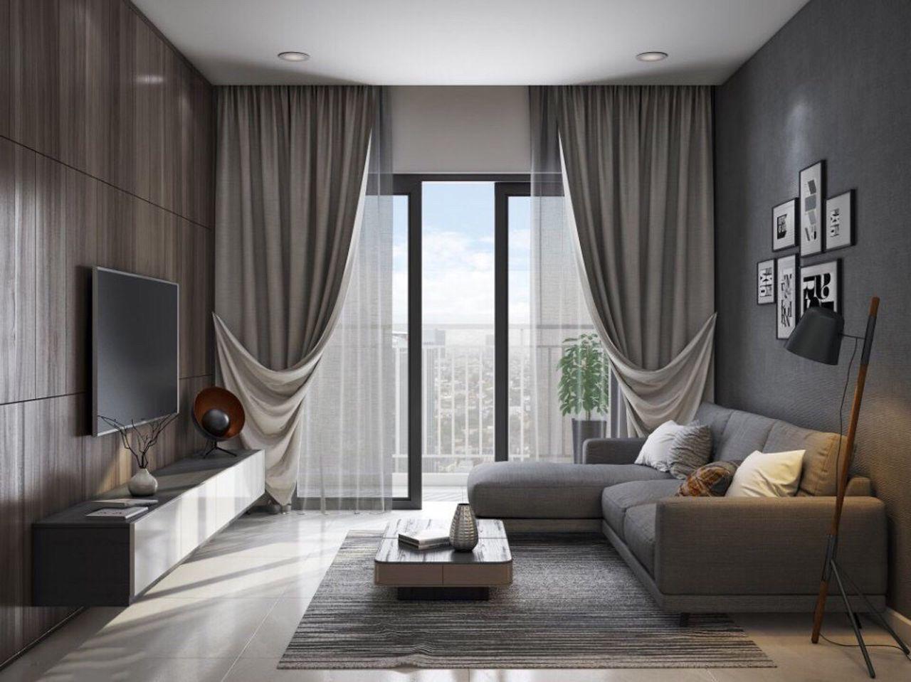 Thiết kế nội thất phong cách hiện đại - phòng khách 005