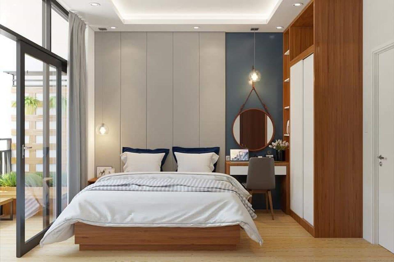 Thiết kế nội thất phong cách hiện đại - phòng ngủ 002