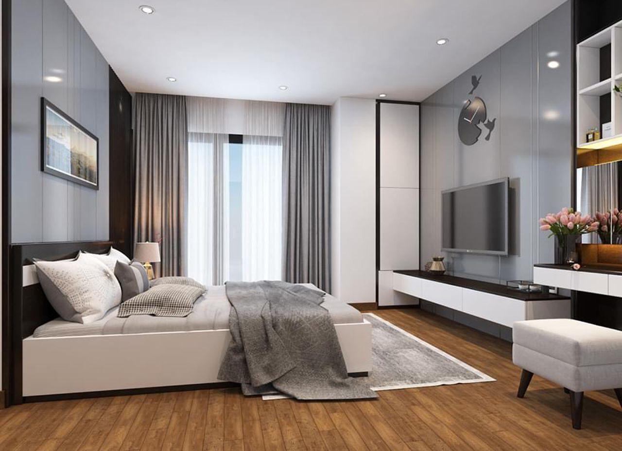 Thiết kế nội thất phong cách hiện đại - phòng ngủ 003