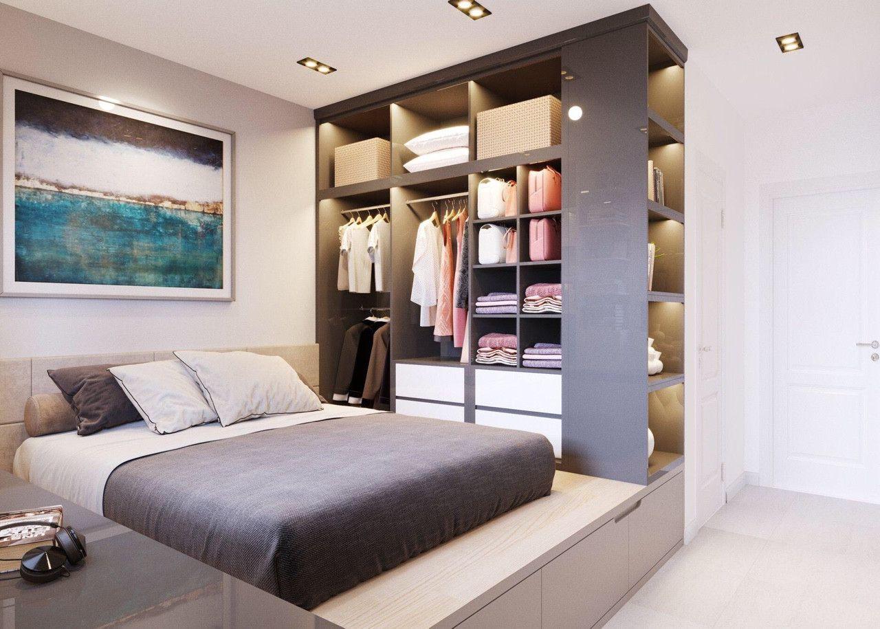 Thiết kế nội thất phong cách hiện đại - phòng ngủ 004