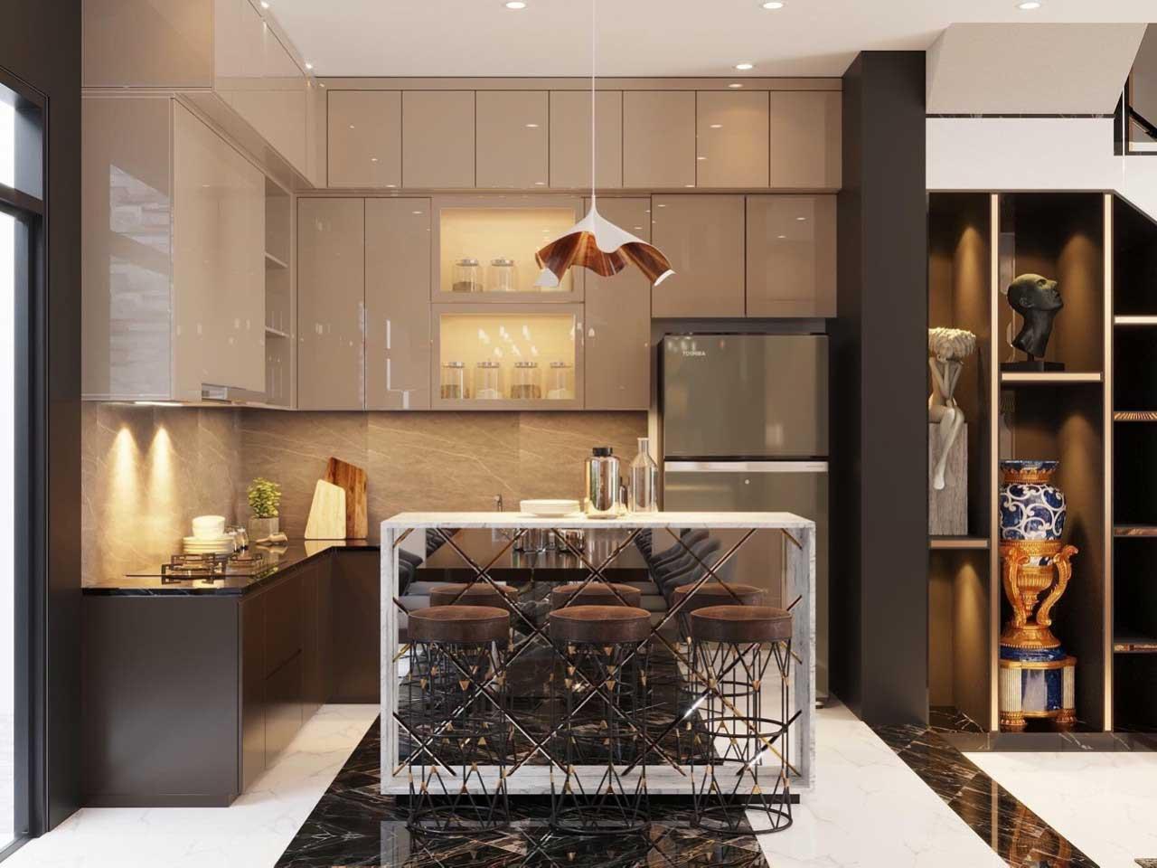 Nội thất nhà bếp đẹp giá rẻ tại thuận thiên 001