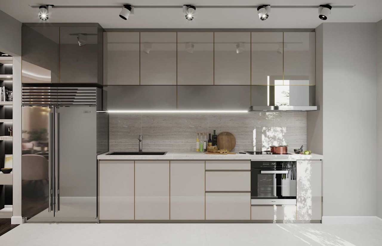 Nội thất nhà bếp đẹp giá rẻ tại thuận thiên 002